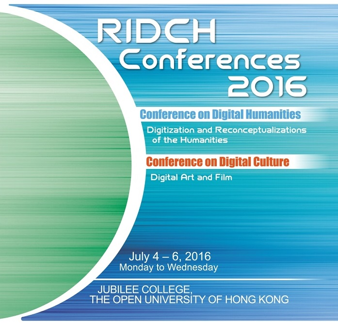 RIDCH Conference 2016